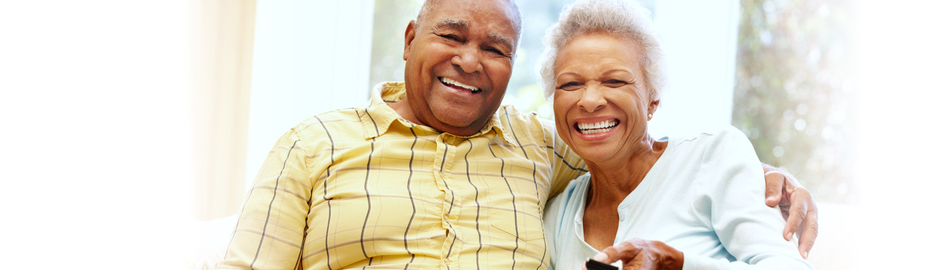 elderly couple smiling | Home Health Care Service Lowell MA